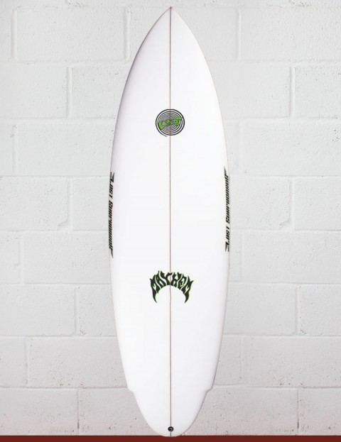 Lost Evil Twin surfboard 5ft 7 Futures - White