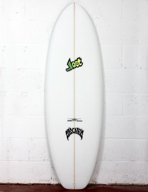Lost Puddle Jumper Surfboard 5ft 6 Futures - White