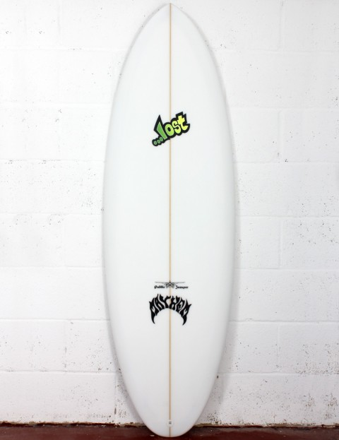 Lost Puddle Jumper RP surfboard 5ft 10 Futures - White