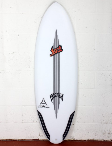 Lost Puddle Jumper RP surfboard Carbon Wrap 5ft 9 Futures - White
