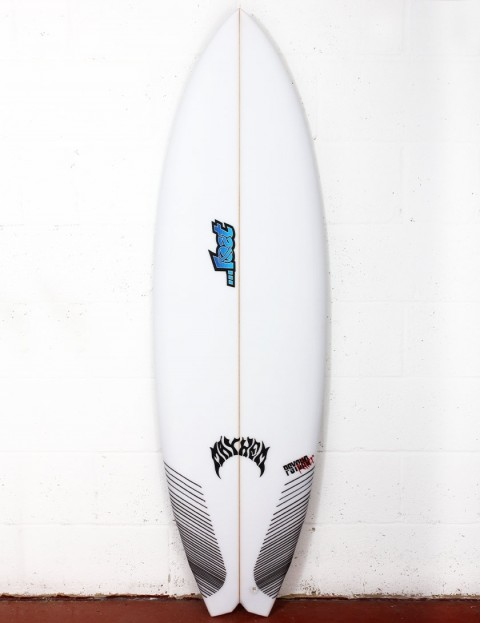 Lost Psycho Killer Bro Dims surfboard 5ft 10 FCS II - White