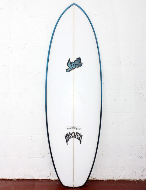 Lost Puddle Jumper Surfboard 5ft 8 FCS II - Blue Rails