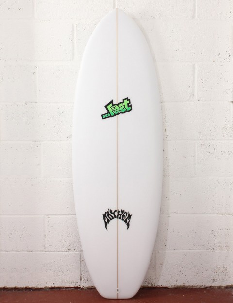 Lost Puddle Jumper Surfboard 5ft 4 Futures - White