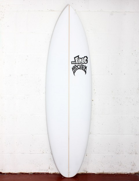 Lost Quiver Killer surfboard 5ft 10 Futures - White