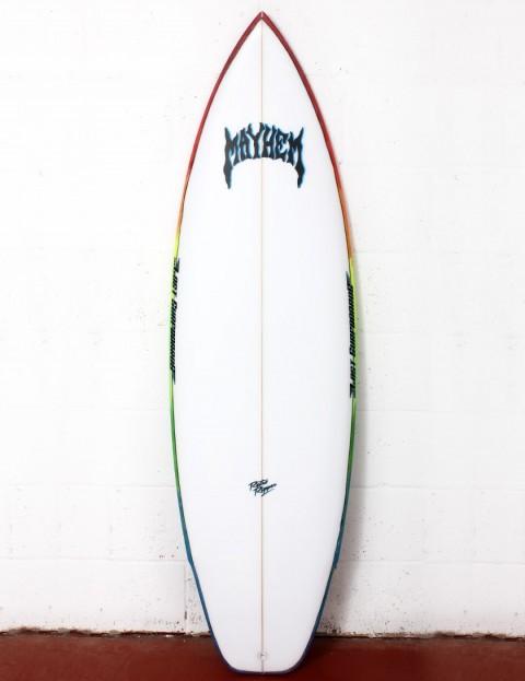 Lost Rad Ripper surfboard 5ft 10 FCS II - White