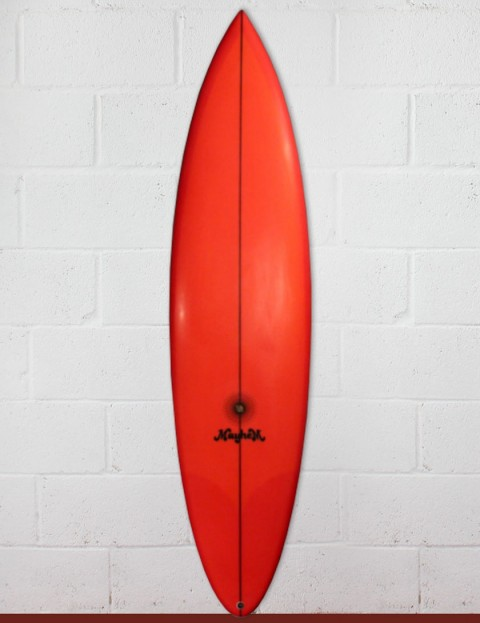Lost Retro Gun surfboard 6ft 8 FCS II - White