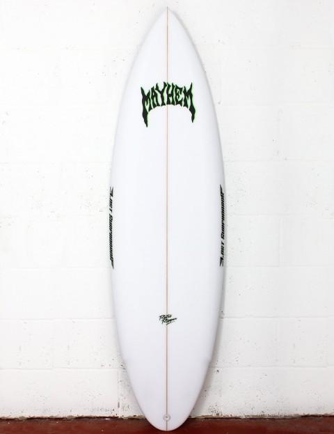 Lost Retro Ripper surfboard 5ft 10 FCS II - White