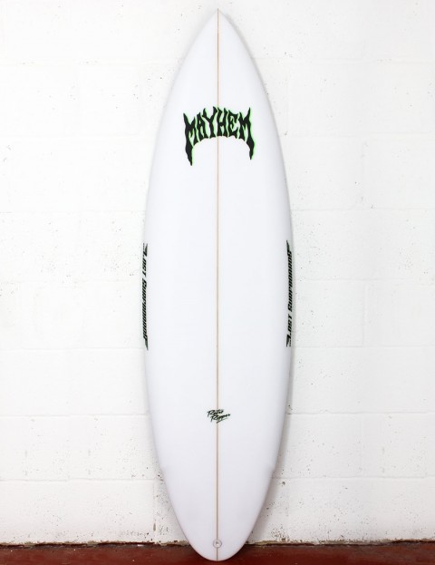 Lost Retro Ripper surfboard 6ft 2 FCS II - White