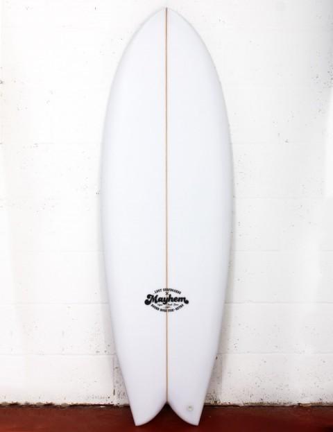 Lost RNF Retro surfboard 5ft 8 Futures - White