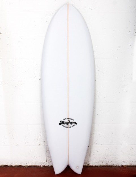Lost RNF Retro surfboard 5ft 9 Futures - White