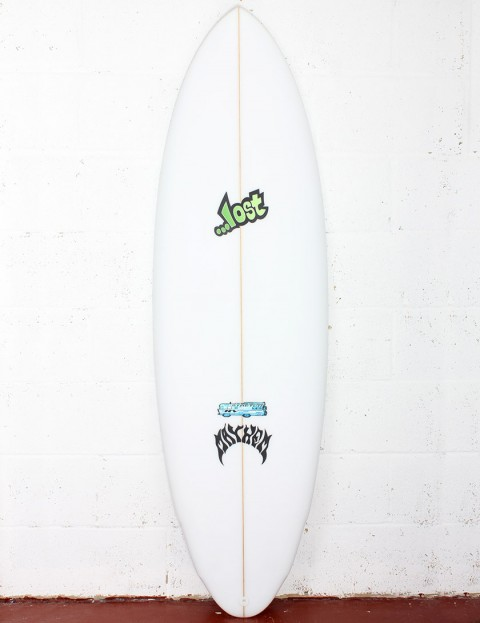 Lost Stretch RV Surfboard 5ft 10 FCS II - White