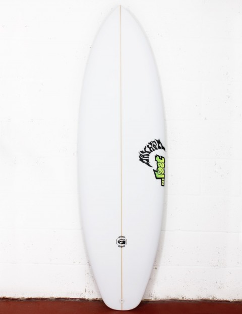 Lost Short Round Surfboard 5ft 10 FCS II - White
