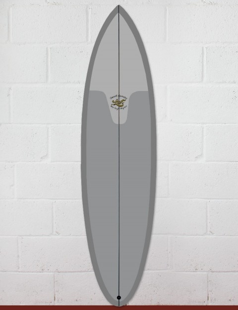 Lost Smooth Operator surfboard 6ft 6 FCS II - Resin Tint Grey