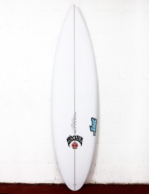 Lost Tube Pig surfboard 6ft 2 FCS II - White