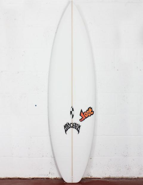 Lost V2 Shortboard Surfboard 6ft 0 Futures - White