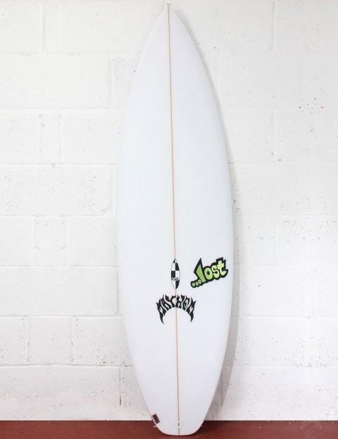 Lost Surfboards V2 Shortboard (domesticated) Surfboard 6ft 1 FCS II - White