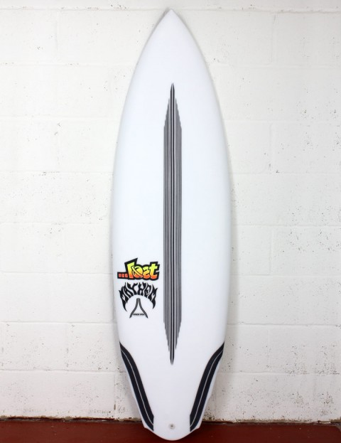 Lost V3 Rocket Surfboard Carbon Wrap 5ft 8 Futures - White