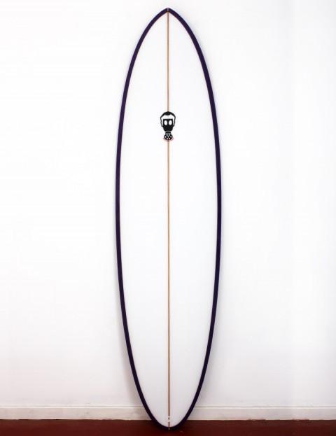 Mark Phipps One Bad Egg surfboard 6ft 10 FCS II - Purple Rail
