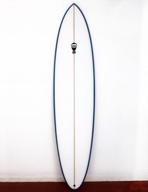 Mark Phipps One Bad Egg surfboard 6ft 10 FCS II - Blue Rail