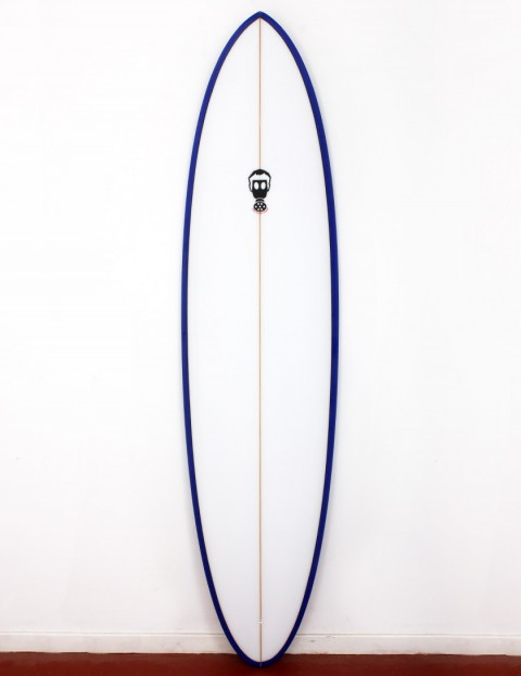 Mark Phipps One Bad Egg surfboard 7ft 10 FCS II - Purple Rail