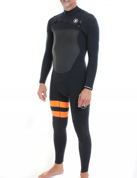 Hurley Fusion 4/3mm Wetsuit 2016 - Black/Orange
