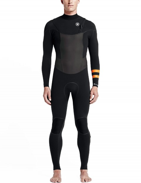 Hurley Phantom Limited Zip Free 2/2mm Wetsuit 2016 - Black
