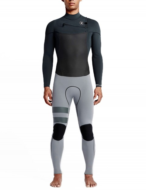 Hurley Phantom Chest Zip 2/2mm Wetsuit 2016 - Anthracite/Cool Grey