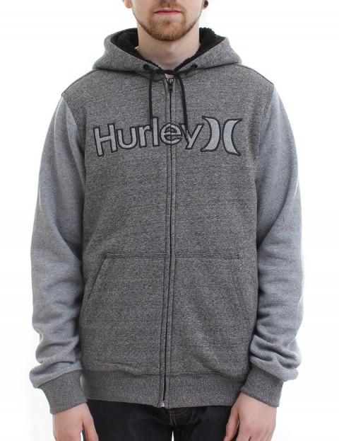 Hurley Getaway Sherpa lined zip hoody - Black