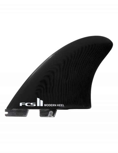 FCS II Modern Keel PG Twin Fins X Large - Black