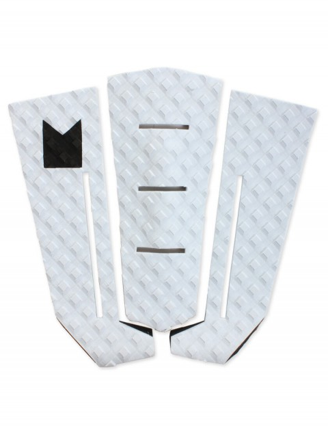 MODOM Taj Burrow surfboard tail pad - White