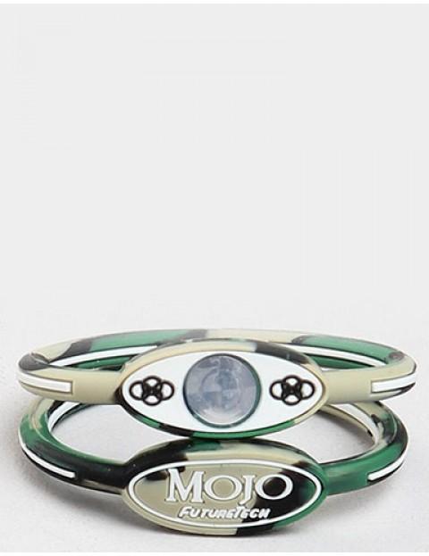 Mojo 6 inch Single Holographic wristband - Camo