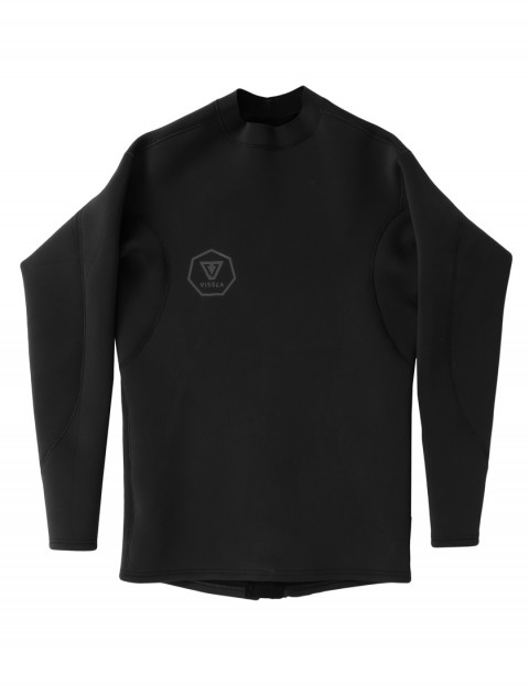 Vissla Performance Long Sleeve 2mm wetsuit Jacket 2017 - Stealth