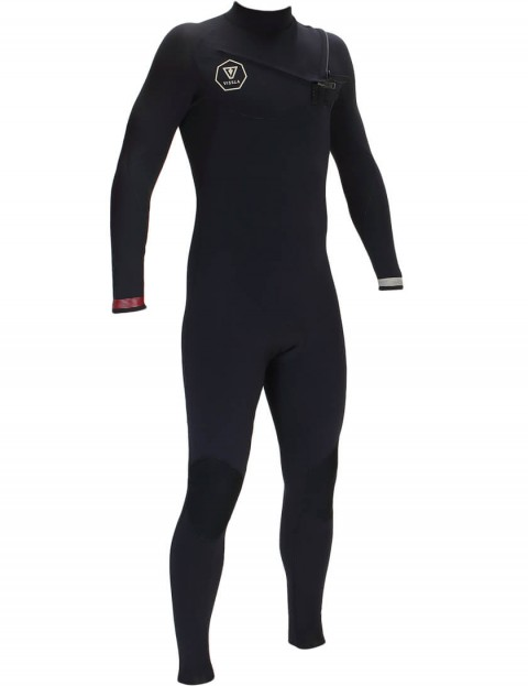 Vissla 7 Seas Chest Zip 2/2mm Wetsuit 2016 - Black