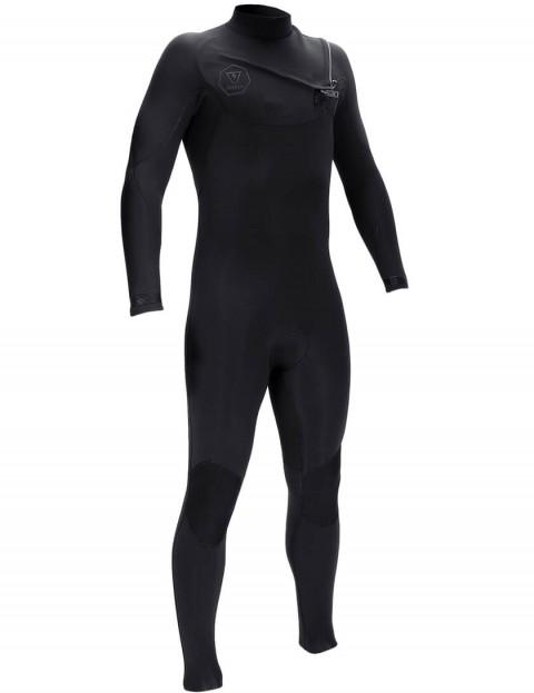Vissla 7 Seas Chest Zip 3/2mm Wetsuit 2016 - Stealth