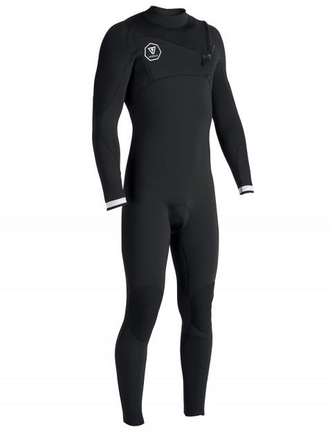Vissla 7 Seas Chest Zip 3/2mm Wetsuit 2017 - Black with White