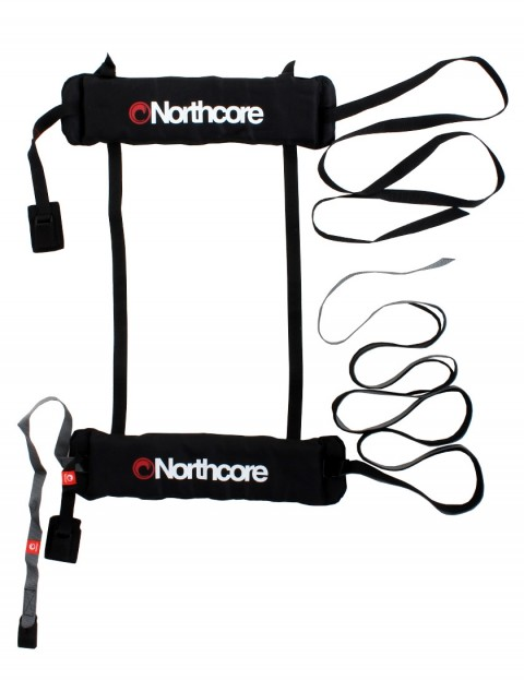Northcore Three Door Overhead Soft Roof Rack system - Black