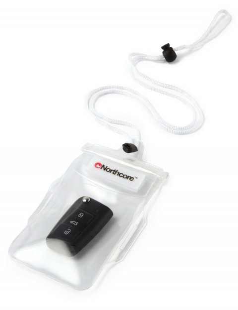 Northcore Waterproof Key & Phone Pouch - Clear