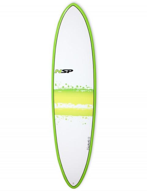 NSP Elements Funboard surfboard 7ft 2 - Green