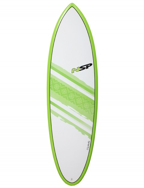NSP Elements Hybrid surfboard 6ft 2 - Green