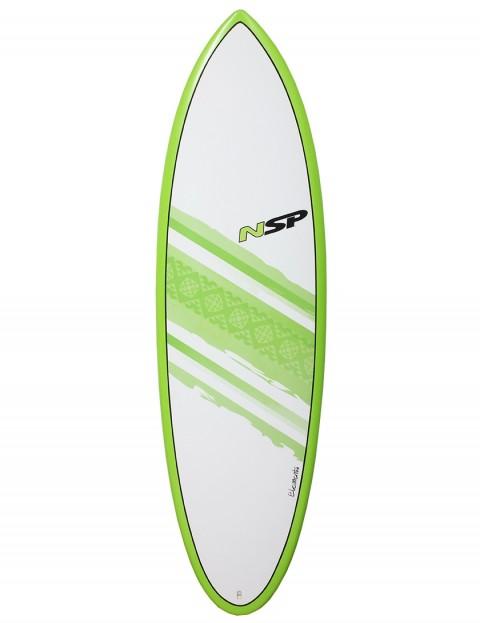 NSP Elements Hybrid surfboard 6ft 4 - Green