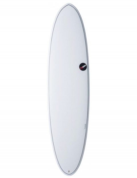 NSP Elements Funboard surfboard 6ft 8 - White