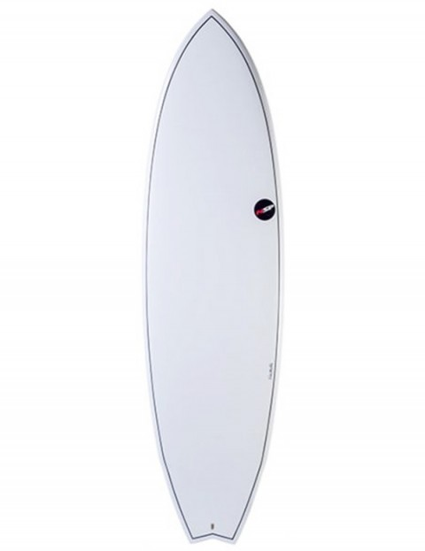 NSP Elements Fish surfboard 7ft 2 - White