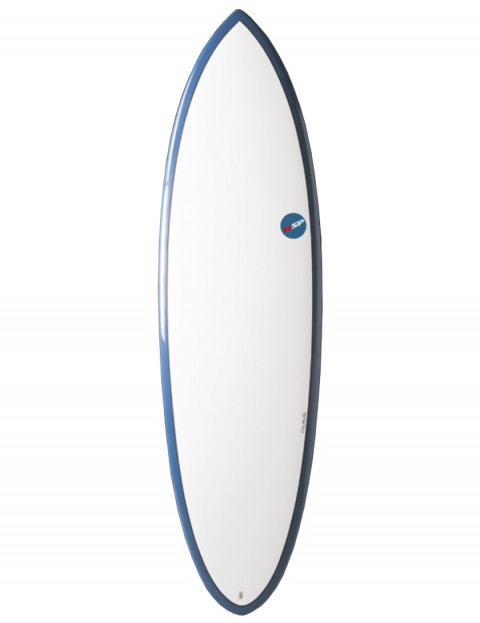 NSP Elements Hybrid surfboard 6ft 6 - Blue