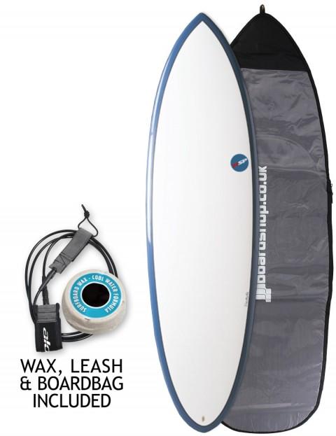 NSP Elements Hybrid surfboard package 6ft 2 - Blue