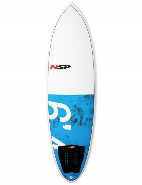 NSP Hybrid surfboard 6ft 4 - Blue