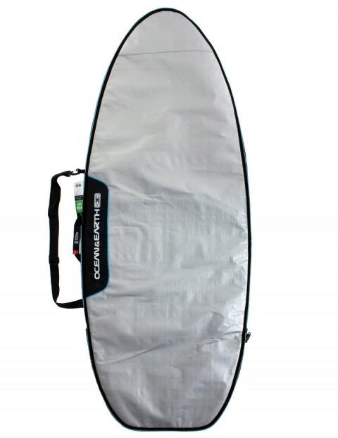 Ocean & Earth Barry Super Wide Fish Surfboard bag 5mm 6ft 4 - Silver