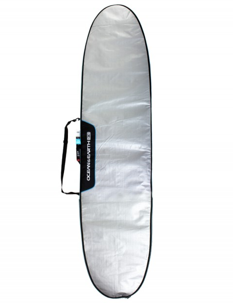 Ocean & Earth Barry Basic Longboard Surfboard bag 5mm 9ft 6 - Silver