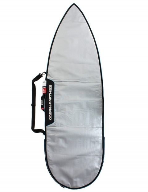 Ocean & Earth Barry Basic Shortboard Surfboard bag 5mm 6ft 8 - Silver
