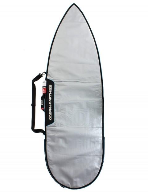 Ocean & Earth Barry Basic Shortboard Surfboard bag 5mm 6ft 4 - Silver