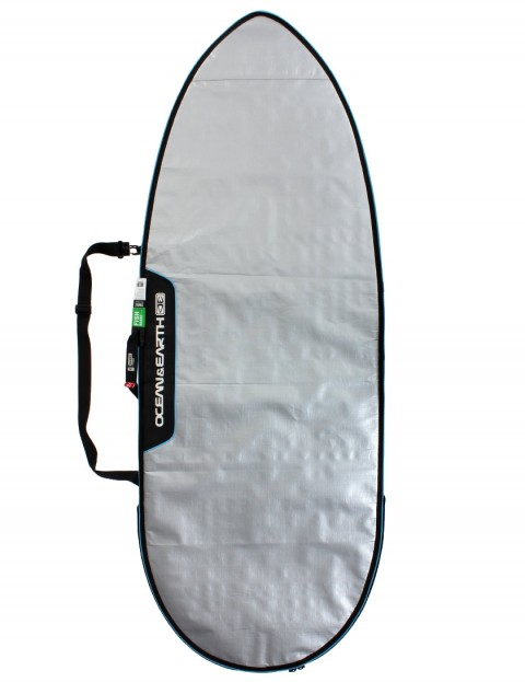 282c6da4cf Ocean & Earth Barry Basic Fish Cover Surfboard bag 5mm 5ft 8 - Silver